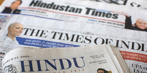 Image result for indian newspapers