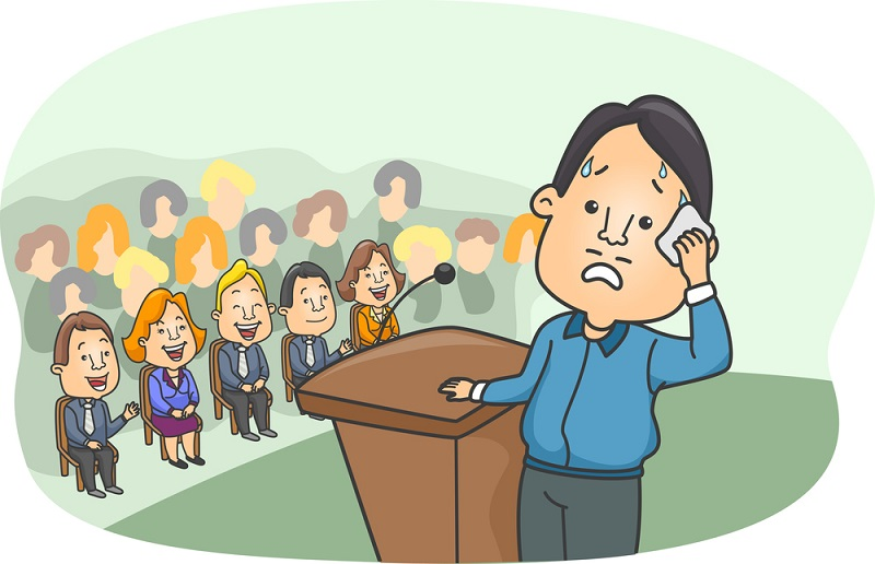 What are some ways to overcome a fear of public speaking?